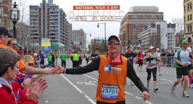 national high five day 2013 boston marathon