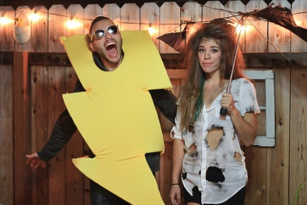 lightning bolt costume