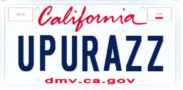 rejected vanity plates the awesomesauce